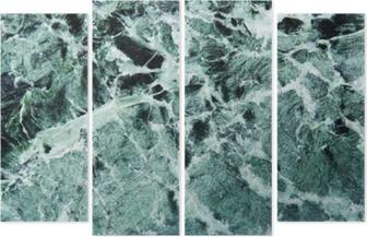 Grüner marmor Neliosainen