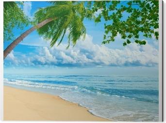 Obraz na Aluminium (Dibond) Plaża