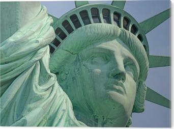 Obraz na Aluminium (Dibond) Statua Wolności, Liberty Island w Nowym Jorku