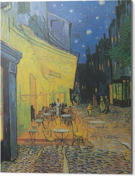 Obraz na Aluminium (Dibond) Vincent van Gogh - Taras kawiarni w nocy - Reproductions