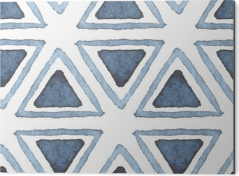 Obraz na Aluminium (Dibond) Wyciągnąć rękę szwu wzór akwarela
