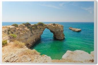 Obraz na PCV Algarve Strand - Algarve Plaża
