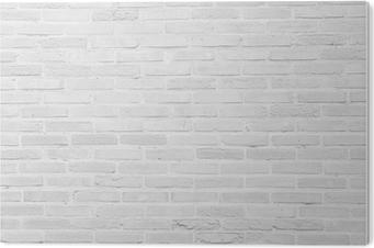 Obraz na PCV Białe tekstury grunge ceglany mur w tle