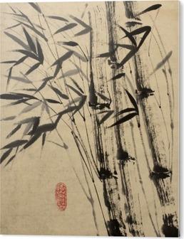 Obraz na PCV Oryginalny rysunek bambusa