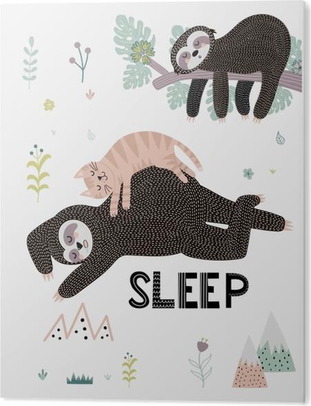 Obraz na PCV Sleep - Motywacyjne