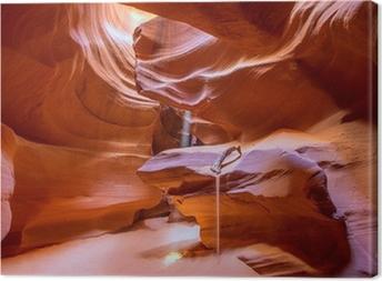 Obraz na plátně Antelope Canyon Arizona na Navajo pozemku v blízkosti stránku