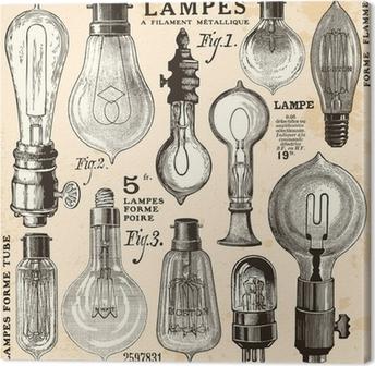 Obraz na Plátně žárovka