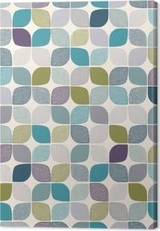 Obraz na Plátně Bezešvé abstraktní vzor tečky