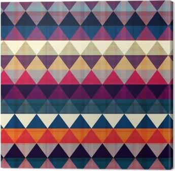 Obraz na Plátně Bezešvé trojúhelník na pozadí
