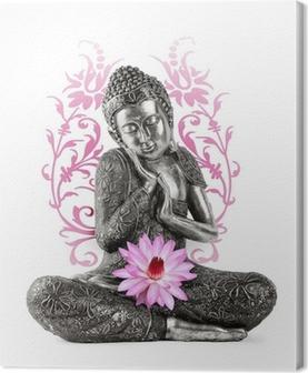 Obraz na plátně Buddha socha