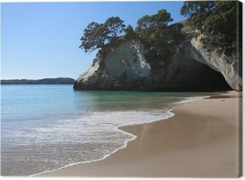 Obraz na plátně Cathedral Cove, Coromandel, Nový Zéland