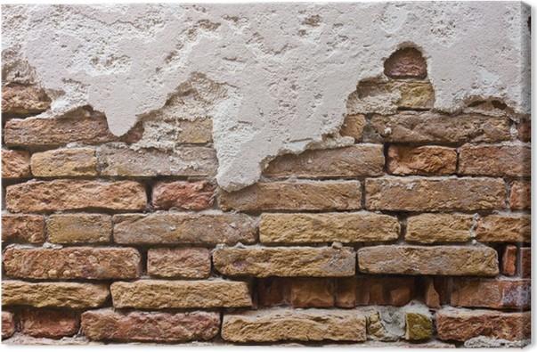 Obraz na plátně Cihlová zeď - Témata