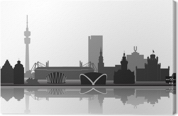 Obraz na plátně Dortmund Architektura - Evropa