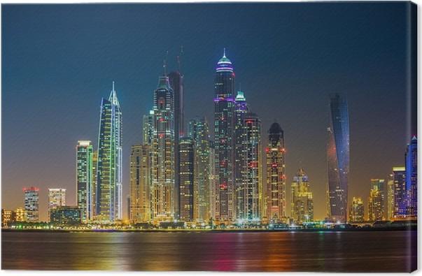 Obraz na plátně Dubaj Marina, Spojené arabské emiráty - Jiné