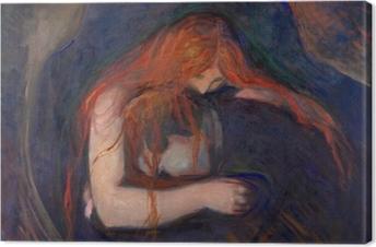 Obraz na plátně Edvard Munch - Upír