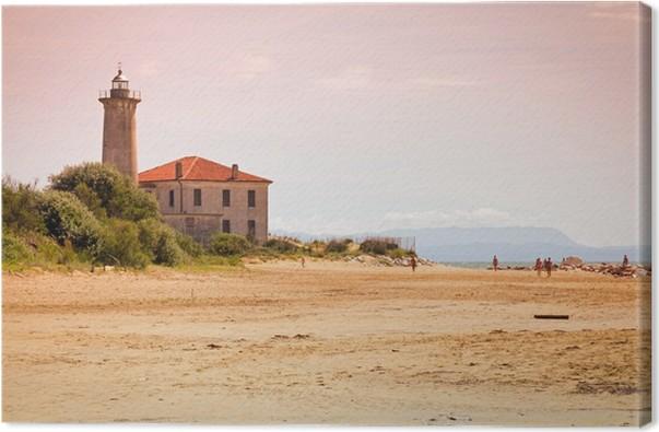 Obraz na plátně Faro di Bibione (VE) - Itálie - Témata