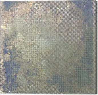 Obraz na Plátně Grunge barevné pozadí. S různými barevnými vzory: žlutá (béžový); hnědý; modrý; šedá