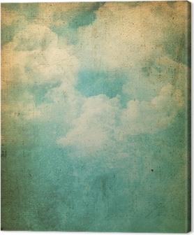 Obraz na Plátně Grunge mraky na pozadí