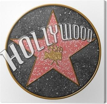 Obraz na plátně Hollywood hvězda
