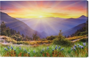 Obraz na Plátně Horská krajina
