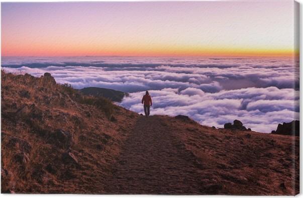 Obraz na plátně Hory na Madeiře - Prázdniny