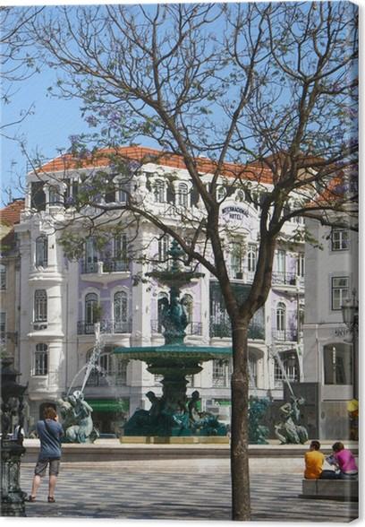 Obraz na plátně Lisabon - Město