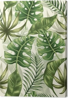 Obraz na Plátně Listy vzorek