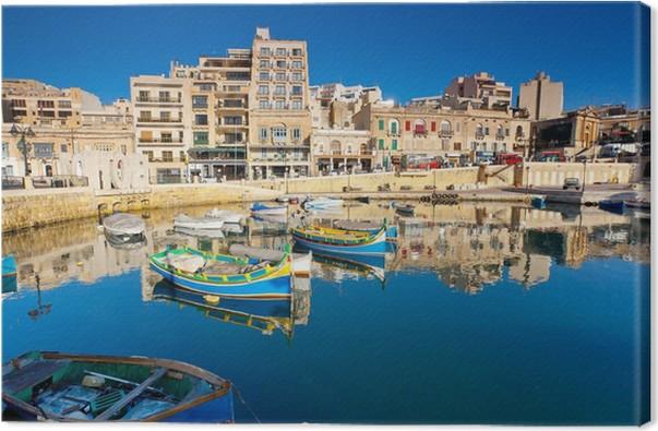 Obraz na plátně Malta - Evropa
