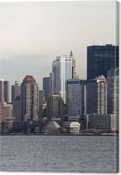 Obraz na plátně Manhattan mrakodrapy, NY - Města