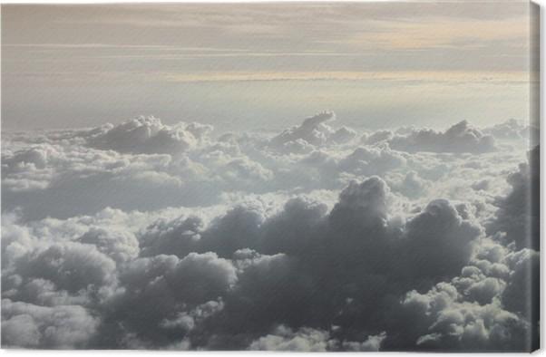 Obraz na plátně Nad mraky - Nebe