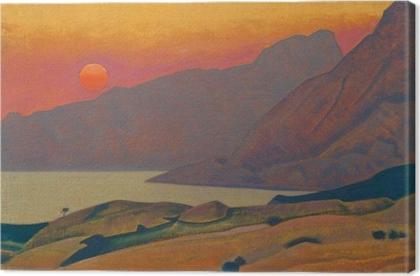 Obraz na plátně Nicholas Roerich - Monhegan. Мэн - Nicholas Roerich