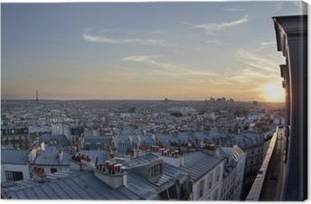 Obraz na plátně Paris střechy