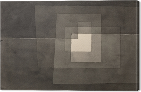 Obraz na plátně Paul Klee - Dvě cesty - Reprodukce