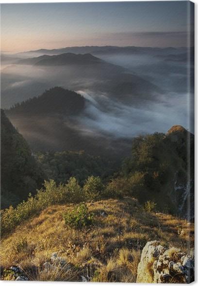 Obraz na plátně Pieniny - Prázdniny