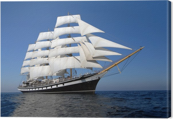 Obraz na plátně Plachetní loď - Témata