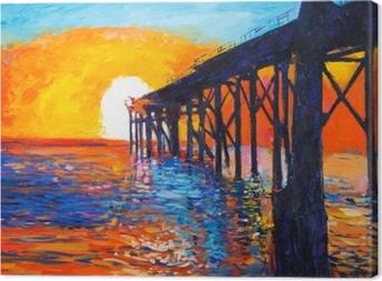 Obraz na plátně Pohled na oceán