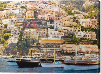 Obraz na plátně Positano, Amalfi Coast