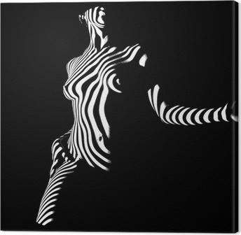 Obraz na Plátně Představuje ve tmě