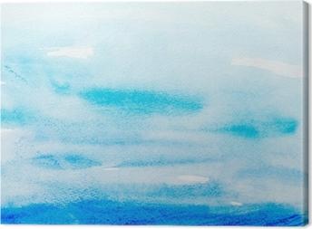 Obrazy na plátně premium Barevné tahy akvarelu umění