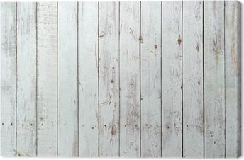 Obrazy na plátně premium Černé a bílé pozadí dřevěné prkénko