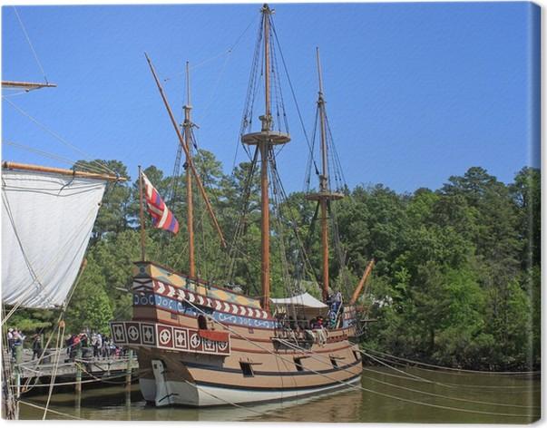 Obraz na plátně Replika tall ship - Amerika