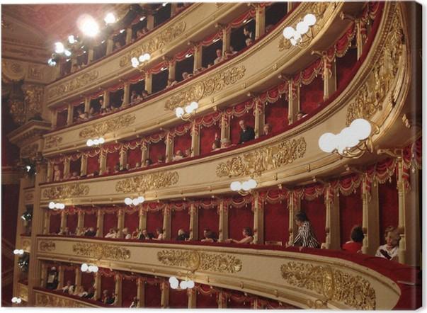 Obraz na plátně Scala Milan - Páry