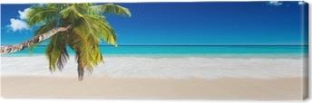 Obraz na Plátně Seychely pláž