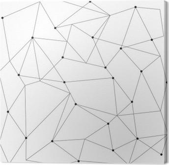 Obraz na Plátně Skandinávský geometrické moderní bezešvé vzor