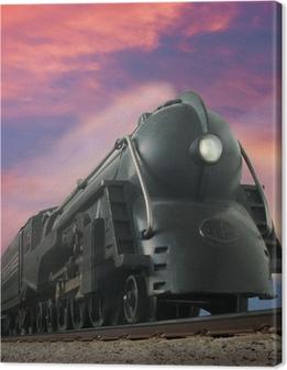 Obraz na plátně Streamliner vlak