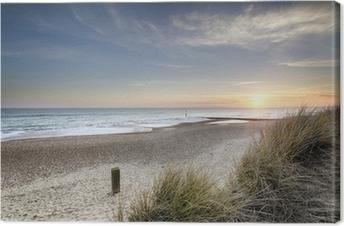 Obraz na Plátně Sunset and Sand Dunes