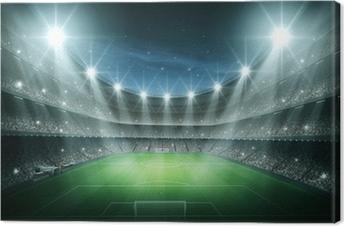 Obraz na plátně Světlo stadionu
