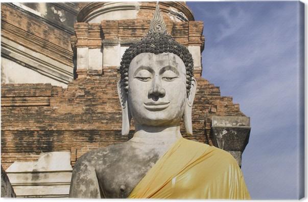 Obraz na plátně Thajsko - Ayutthaya Wat Yai Chai Mongkon - Památky