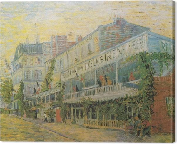 Obraz na plátně Vincent van Gogh - Restaurace Sirene v Asnieres - Reproductions