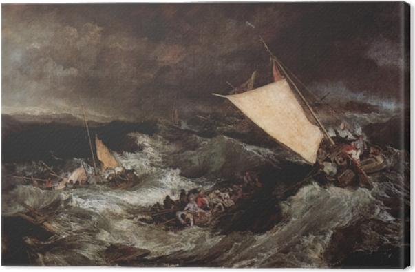 Obraz na plátně William Turner - Vrak - Reprodukce